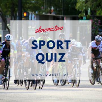 Sport Quiz – zabawa interaktywna