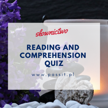 Rocks, Pebbles, Sand – reading quiz.