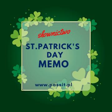 St. Patrick's Day – Memo