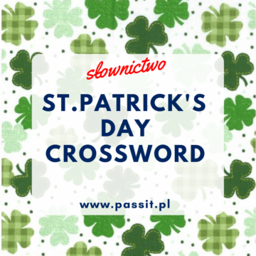 St. Patrick's Day – Crossword